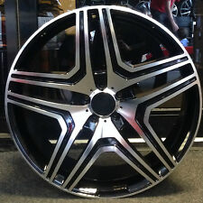 "4 x 22"" AMG STYLE ALLOY WHEELS FIT ML GL GLK R CLASS AND VITO"