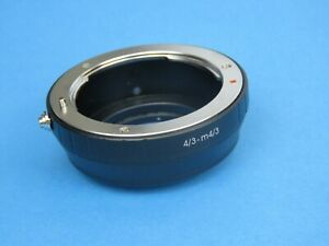 Lens Adapter for Four Thirds 4/3 Lens to Micro 4/3 Olympus, Panasonic camera