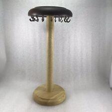 """ST1 Calligraphy Brush Pen Holder Brushes Hanger Wood Stand 12"""""""