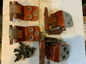 1964-1965 GM A Body Door Hinge Hinges Upper & Lower GTO Chevelle 442 Original GM