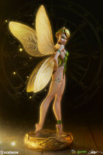 Sideshow Fairytale Fantasies J Scott Campbell Tinkerbell Statue MISB In Stock