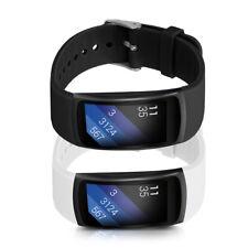 2x braccialetto di ricambio per SAMSUNG Gear fit2 Gear Fit 2 Pro Set in Silicone Sport Bracciale