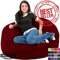 Bean Bag Chair Factory Direct Cozy Dorm Sack 3' Large Double Layer Premium Foam