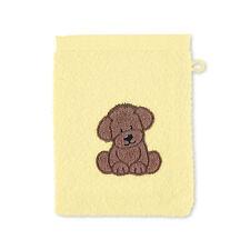 Sterntaler Baby Kinder Waschhandschuh Waschlappen 21 x 15 Hund Hanno 7201980