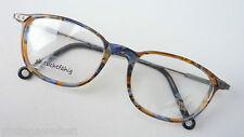Markenbrille Herren Kunststoff Brille braun Antiklook Metallbügel stabil size M