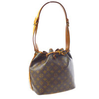 LOUIS VUITTON PETIT NOE DRAWSTRING SHOULDER BAG MONOGRAM AR0930 M42226 A54337
