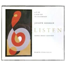 4-6 of A 6CD Set to Accompany Joseph Kerman Listen (Third Brief Edition)
