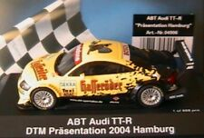 AUDI TT-R ABT DTM PRASENTATION 2004 HAMBURG SCHUCO 4906 1/43 PRESENTATION ADAC
