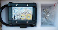 ECCPP ECCPP050481 LED 18W Bar Work Light Auxiliary Driving Lamp 1260lm
