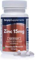 Zinc 15mg - 120 comprimés