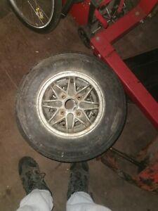 classic mini Alloy 10 inch wheels x2