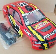 1/10 RC car 190mm on road rally drift Mitsubishi Body Shell w/spoilers Red