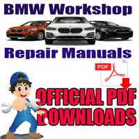 BMW Car workshop Repair Service Manual PDF Download