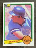 1983 Donruss George Brett #338 - Kansas City Royals - HOF - NM-MT