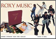 ROXY MUSIC - 8 LP - 180 G.  LTD.ED. COMPLETE StudioAlbum BoxSet 1/2-SpeedMasters