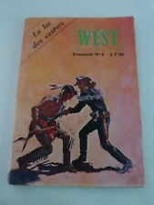 WEST  n° 6 : le lac des castors  /  avril 1979