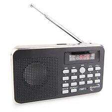 Kleines Radio mit MP3 und USB von Dynavox, Badradio, Reiseradio, für unterwegs