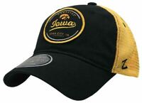 Zephyr University of Iowa Lager Hawkeyes Hat Baseball Cap Iowa City UI Mesh