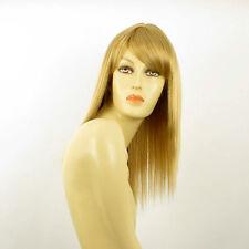 Perruque femme mi-longue blond doré RAPHAELLA 24B