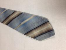 Mens Blue Brown White Tie Necktie WEMBLEY~ FREE US SHIP (12330)