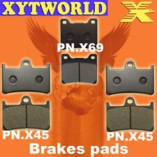 FRONT REAR Brake Pads for Yamaha YZF600 YZF 600 R Thunder cat 1996-2003