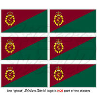 CANADA Canadian Forces Medical Services Flag, Mobile Cell Phone Stickers Mini x6
