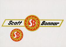 Scott Bonnar Model 45 Vintage Mower Winged Decal