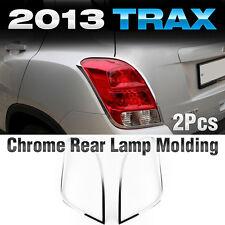 Chrome Rear Lamp Garnish Molding Trim K-592 For CHEVROLET 2013-2018 Gsuv / Trax