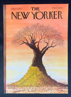 COVER ONLY ~ The New Yorker, October 17, 1977, Robert Weber