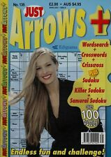 Just Arrows. Endless Fun and Challenge. Over 100 Hundred Puzzles. Volume 135