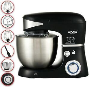 DMS Küchenmaschine Rührmaschine Knetmaschine Teigkneter 5L 1500W Schwarz  KM-150