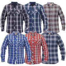 Camicie casual e maglie da uomo a manica lunga in cotone Laundry