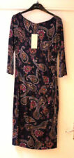Any Occasion 3/4 Sleeve Paisley Dresses for Women