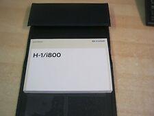 HYUNDAI H-1 H1  I800 OWNERS MANUAL HANDBOOK LEATHER WALLET AUDIO 2011-2017