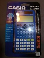 NEW Casio Scientific Calculator FX-300ES PLUS-BU 2nd Edition ACT SAT PSAT