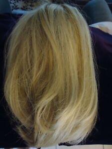 "14"" Partial Wig - Hair Topper - Blonde"