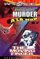 Murder A La Mod/Moving Finger.De Palma Rarity.In Shrink