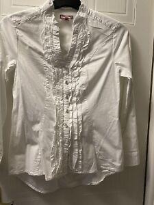 Ladies Joe Brown Frilled Shirt 12