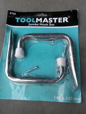 Jumbo Hook Set 140mm x 140mm ladder shed garage storage bike rack tools hanger