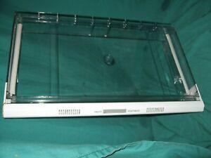 Maytag Refrigerator Lower Crisper Shelf clear plastic # 12001044 RSW2400EAE BL7
