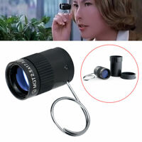 Mini Pocket Key Chain Monocular Telescope for Outdoor Hiking Camping Sports Hot