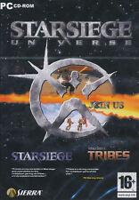 STARSIEGE UNIVERSE Star Siege + Tribes PC Games NEW!