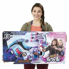 *NEW* Nerf Rebelle Secrets and Spies Arrow Revolution Bow Blaster Nerf Gun Toy