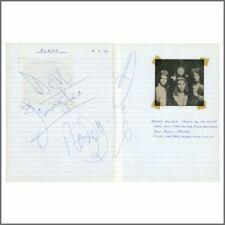 Slade 1972 Torquay Autographs (UK)