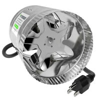 "VIVOSUN 4"" 6"" 8"" inch Inline Duct Booster Fan Exhaust Air Blower Cooling Vent"