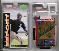Michael Jordan UD Baseball Scouting Report Blister #SR2 16-cd/Pack & Jumbo Card