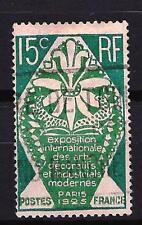 France 1924 arts décoratifs Yvert n° 211 oblitéré 1er choix (2)