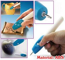 NUOVO palmare Incisione Acquaforte Hobby Craft Pen Rotary Tool per vetro metallo legno