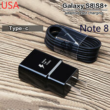 2 Amp Rapid Fast Micro USB Travel Wall Home Charger for Samsung Galaxy Note 8 S8