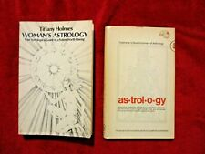Lot of Two Astrology Books Woman's Astrology and Sepharial's Dictionary